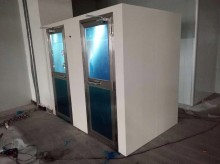东莞安宇电器制品有限公司风淋室工地验收