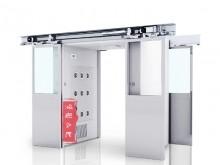 自动感应平移门货淋室