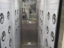 湖南长沙工地货淋室加人淋室、连体风淋室周末安装完毕